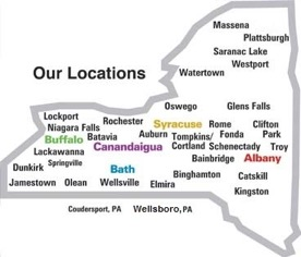 Canandaigua VAMC site map