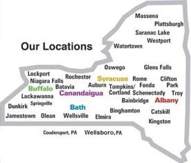Canandaigua VAMC site map