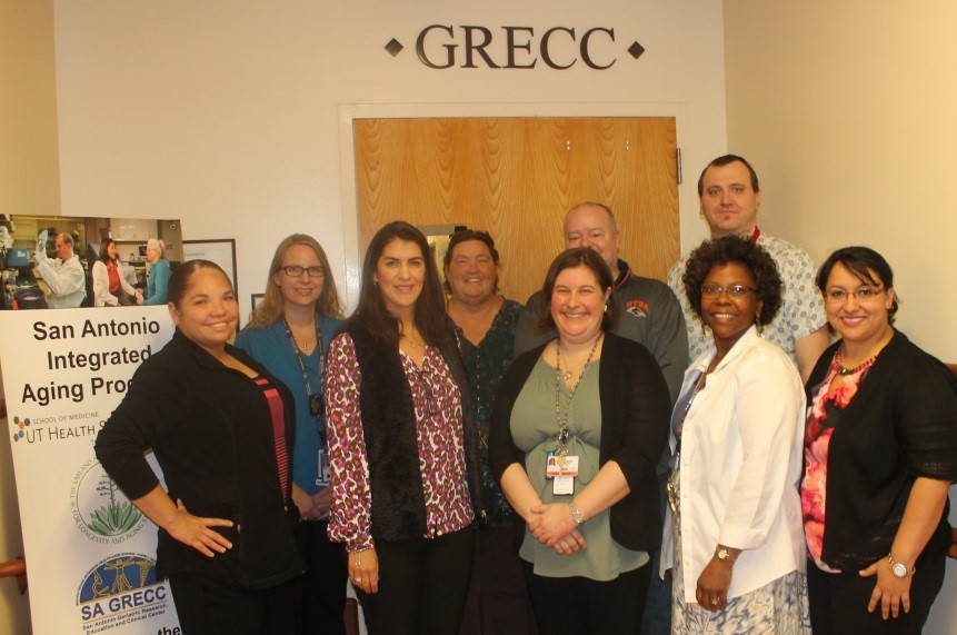 San Antonio GRECC Connect team photo