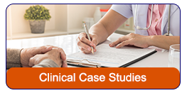 Clinical Case Study thumbnail image of doctor with chart talking to older man